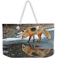 Fox Reflection Weekender Tote Bag