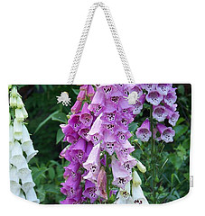 Foxglove After The Rains Weekender Tote Bag