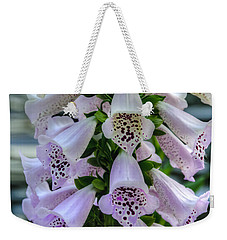 Foxglove At Waters Edge Weekender Tote Bag