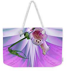 Foxglove Weekender Tote Bag by Mike Breau