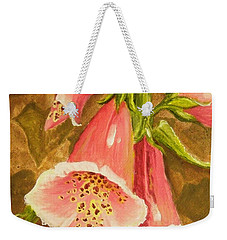 Foxy Foxglove Of Williamsburg Weekender Tote Bag