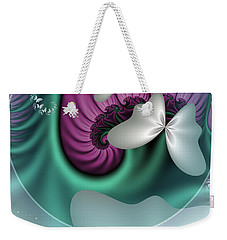Fractal A Dream Of Butterflies Weekender Tote Bag by Gabiw Art