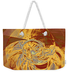 Fractal Ammonite Weekender Tote Bag by Menega Sabidussi