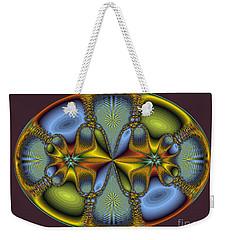 Fractal Art Egg Weekender Tote Bag