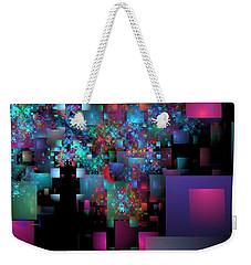 Fractal Confetti Weekender Tote Bag