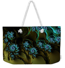 Fractal Forest Weekender Tote Bag by GJ Blackman