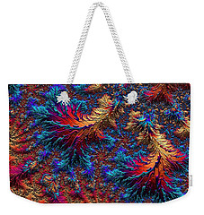 Fractal Jewels Series - Beauty On Fire II Weekender Tote Bag