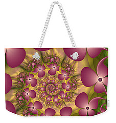Fractal Joy Weekender Tote Bag by Gabiw Art