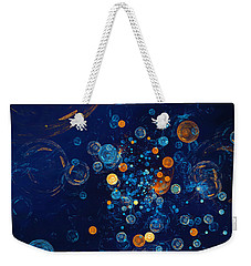 Fractal Soapbubbles - Abstract In Blue And Orange Weekender Tote Bag