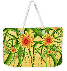 Fractal Summer Pleasures Weekender Tote Bag by Gabiw Art