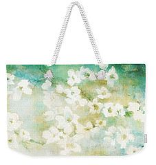 Fragrant Waters - Abstract Art Weekender Tote Bag by Jaison Cianelli