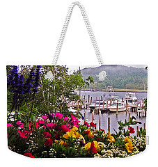 Fragrant Marina Weekender Tote Bag by Lydia Holly