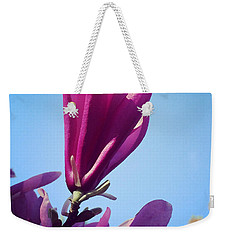 Fragrant Silence Weekender Tote Bag by Kerri Farley