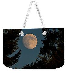 Framed Moon Weekender Tote Bag