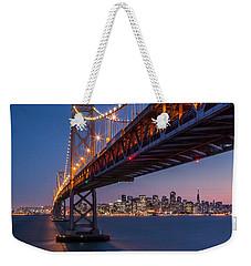Framing San Francisco Weekender Tote Bag by Mihai Andritoiu