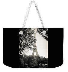 The Eiffel Tower Paris France Weekender Tote Bag