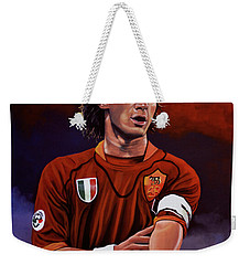 Francesco Totti Weekender Tote Bag by Paul Meijering