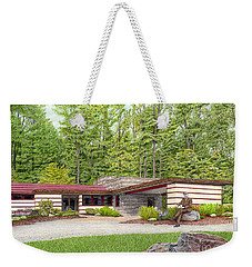 Frank Lloyd Wright At Duncan House Weekender Tote Bag
