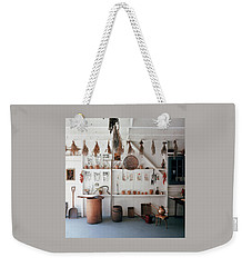 Frank Macgregor Smith's Gardening Area Weekender Tote Bag