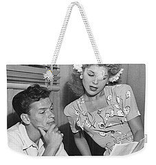 Frank Sinatra & Eileen Barton Weekender Tote Bag by Underwood Archives