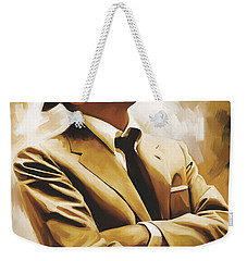 Frank Sinatra Artwork 1 Weekender Tote Bag by Sheraz A