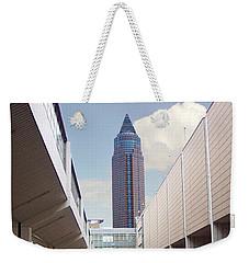 Frankfurter Messe Turm Weekender Tote Bag