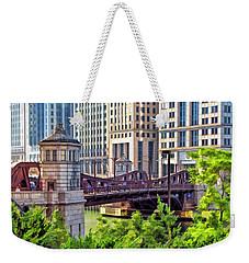 Franklin Street Bridge Weekender Tote Bag