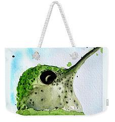 Freckles Weekender Tote Bag by Dawn Derman