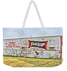 Fred's Lounge Weekender Tote Bag