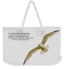 Free Flight Weekender Tote Bag