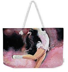 Weekender Tote Bag featuring the painting Free Spirit by Hanne Lore Koehler