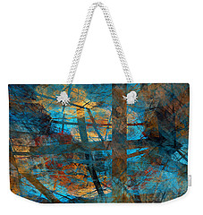 Free Your Mind  Weekender Tote Bag by Menega Sabidussi
