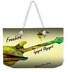 Freebird Lynyrd Skynyrd Ronnie Van Zant Weekender Tote Bag