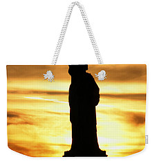 Statue Of Liberty Silhouette Weekender Tote Bag