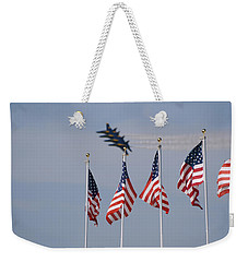 Freedom Flying Weekender Tote Bag