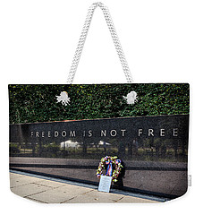 Freedom Is Not Free Weekender Tote Bag by Sennie Pierson