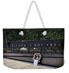 Freedom Is Not Free Weekender Tote Bag