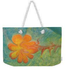 Weekender Tote Bag featuring the painting Freedom by Mike Breau