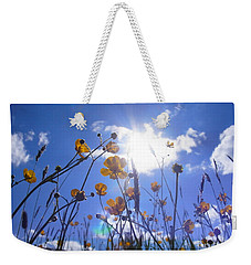 Freedom Of The Meadow Weekender Tote Bag