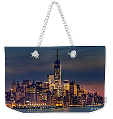 Freedom Tower Construction End Of 2013 Weekender Tote Bag