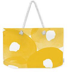 Freesia Splash Weekender Tote Bag
