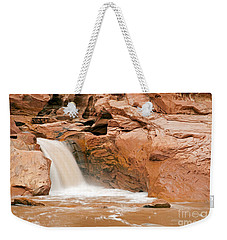 Fremont River Falls Capitol Reef National Park Weekender Tote Bag