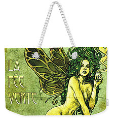 French Cafe Poster C1885 Weekender Tote Bag