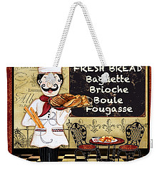 French Chef-a Weekender Tote Bag by Jean Plout
