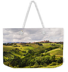 Weekender Tote Bag featuring the photograph French Countryside by Allen Sheffield
