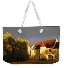 French House At Sunset Weekender Tote Bag