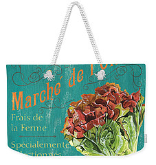 French Market Sign 3 Weekender Tote Bag by Debbie DeWitt