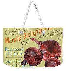 French Market Sign 4 Weekender Tote Bag by Debbie DeWitt