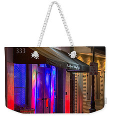 French Quarter Wedding Chapel Weekender Tote Bag
