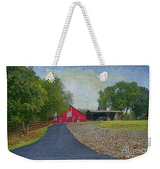 Weekender Tote Bag featuring the photograph Fresh Country Charm by Liane Wright